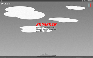 Screenshot of Kamikaze