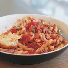 Spicy Tomato and Squid Pasta
