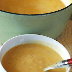 Cheddar & Ale Soup with Potatoes