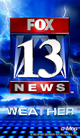 Screenshot of FOX 13 Weather
