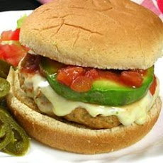 Ground Chicken Taco Burgers