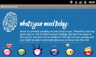 Screenshot of Mood Scanner