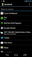 Screenshot of Quickdroid Search
