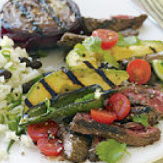 Skirt Steaks with Deconstructed Guacamole