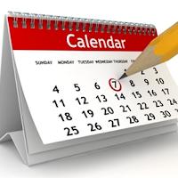 Screenshot of Calendar