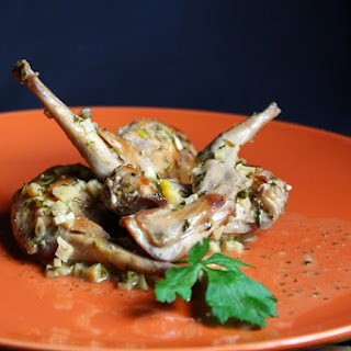 Rabbit with Garlic