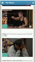 Screenshot of Big Brother Spoilers