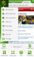 Screenshot of Dolphin Browser® Mini
