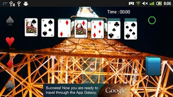 Screenshot of Card Solitaire