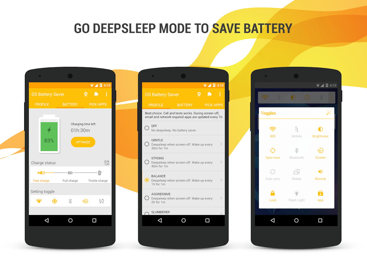 Deep Sleep Battery Saver Pro Screenshot