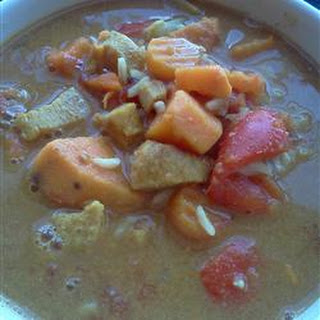Ashley's African Peanut Soup