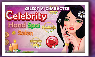 Screenshot of Celebrity Hand Spa & Salon
