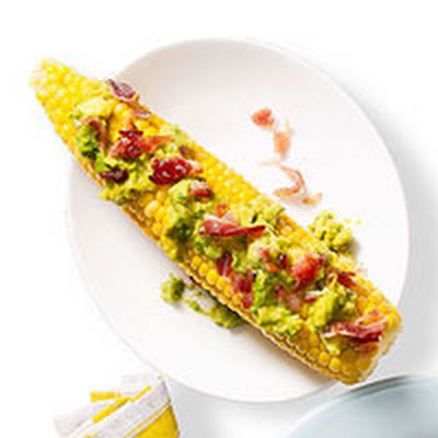 Guacamole & Bacon Corn on the Cob
