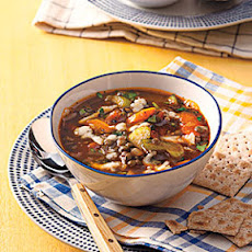 Vegetable-Lentil Soup