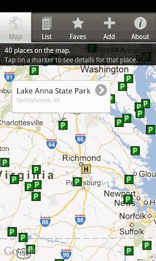 State Parks Locator