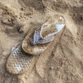 # slippers by Dipali S - Instagram & Mobile Instagram ( footwear, beach, artistic, object )