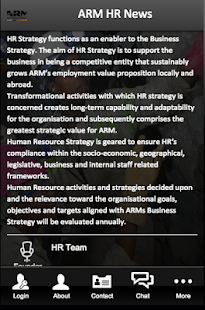 ARM HR News - screenshot