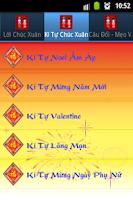 Screenshot of Tin Nhắn Chúc Xuân 2015