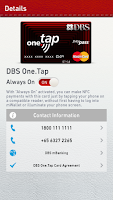 Screenshot of SingTel mWallet