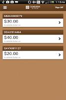 Screenshot of Cendera Bank Mobile
