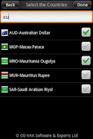 Screenshot of CGVAK Currency Converter
