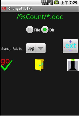 Change File Extension 4dir Pro