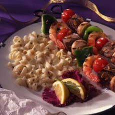 Sweet & Sour Shrimp & Steak Kabobs