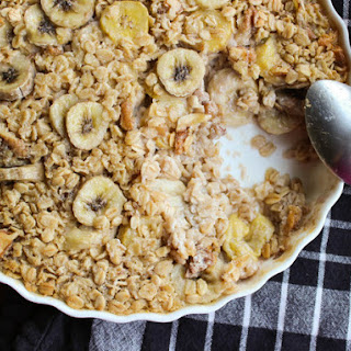 Maple-Banana Baked Oatmeal