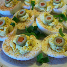 Caribbean Deviled Eggs