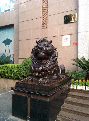 桂林市中国银行狮子