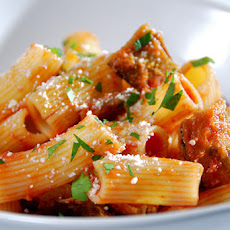 Online Round 2 Recipe - Crispy Eggplant and Pasta