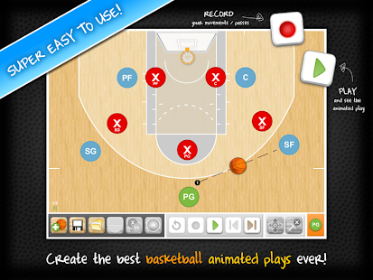 HeadCoach Basketball Free- screenshot thumbnail
