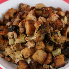 Slow Cooker Stuffing with Apple and Sausage