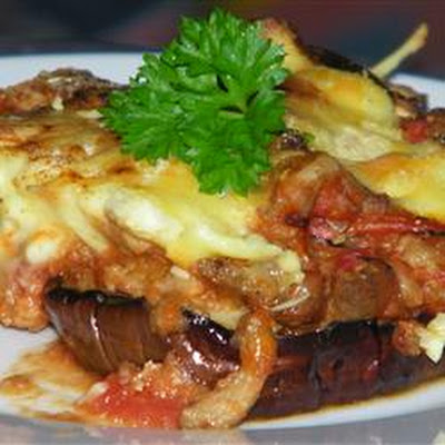 Veal and Eggplant Moussaka