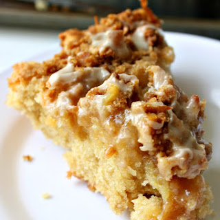 Lemon Curd Coffee Crumb Cake for #SundaySupper