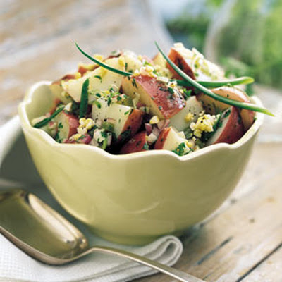 Potato Salad with Toasted Cumin Vinaigrette