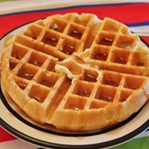 Cinnamon Belgian Waffles Recipe — Dishmaps