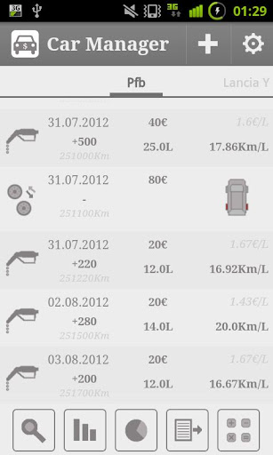 Car Fuel Manager - Full