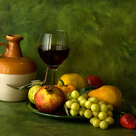 Still life with fruits by Rakesh Syal - Food & Drink Fruits & Vegetables