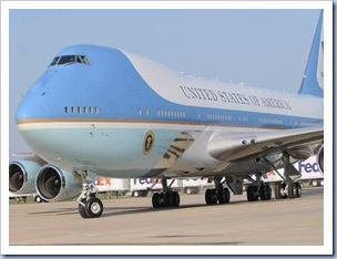 Air Force One @ GSP (Bart Boatwright - Gville News)