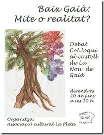 cartell xerrada baix      gaià Mite o realitat (16-06-08) (1)