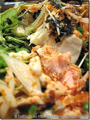 tokkuri tei salmon skin tofu salad 5