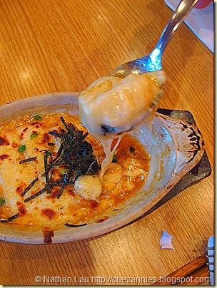 shokudo mochi cheese gratin
