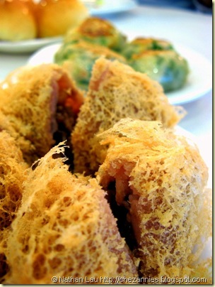 Dynasty Chinese Seafood dim sum fried taro puff