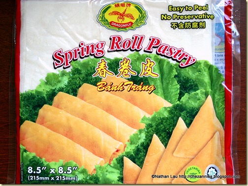 Spring Roll Wrappers for Mum's Homemade Poh Pia