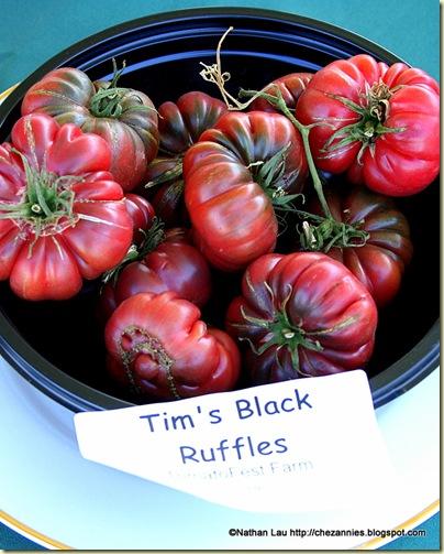 Tim's Black Ruffles Tomato