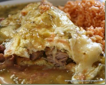 La Fiesta Chile Verde Omelette