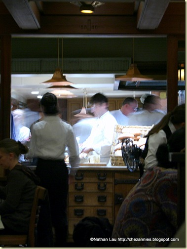 The Open Kitchen at Chez Panisse