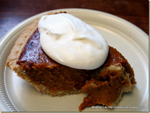 Pumpkin Pie from Gizdich Ranch