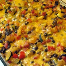 Ground Turkey Tortilla Casserole